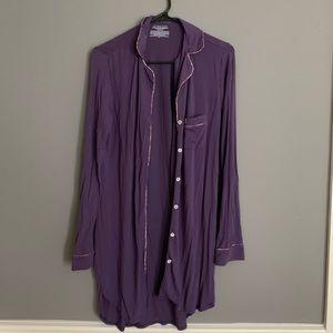 Victoria's Secret pajama shirt dress